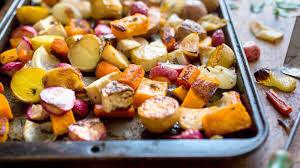 mixed roasted potatoes
