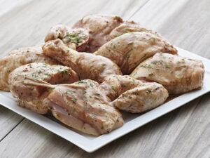 balsamic marinated cut up chicken