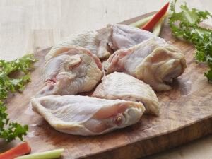 b&e organic chicken wings