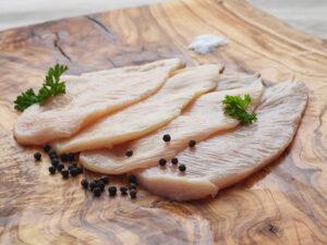 thin sliced chicken cutlets grade a