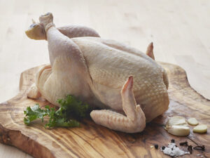 b&e organic whole chicken