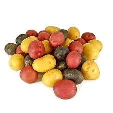 organic mixed baby potatoes