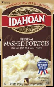 idahoan mashed potatoes