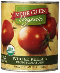 muir glen organic canned tomatoes