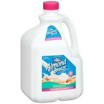 almond breeze milk