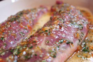 italian marinated pork tenderloin