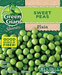 green giant steamers box