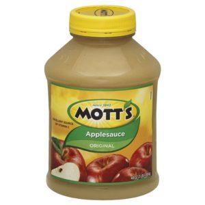 mott's apple sauce