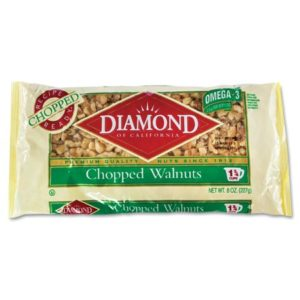 diamond chopped walnuts/almonds