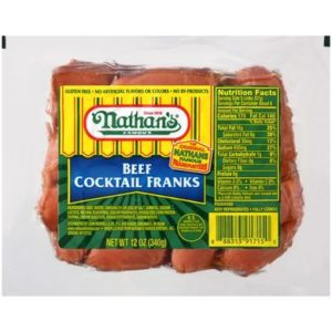 nathan's cocktail franks