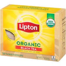 organic lipton tea bags