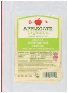 applegate farms organic american cheese