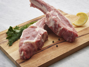 rib veal chops