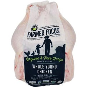 farm focus organic whole chicken