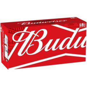 budweiser 18pk beer