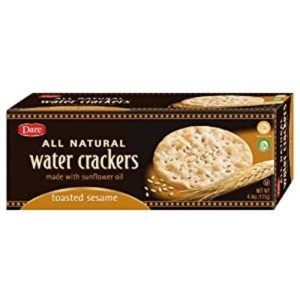 dare water crackers