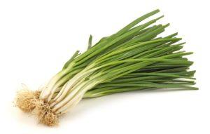 organic scallions