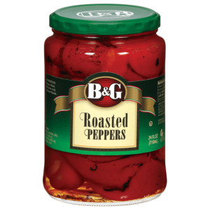 b&g roasted red peppers