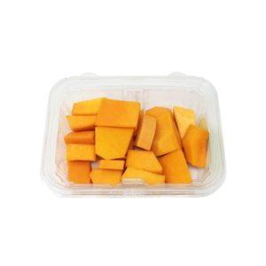 organic butternut squash cubes