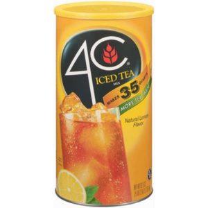 4-c iced tea mix