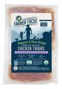 organic farmers focus boneless chicken thighs