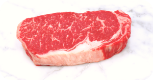 boneless rib eye steak
