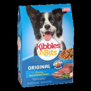 kibbles n' bites dry dog food