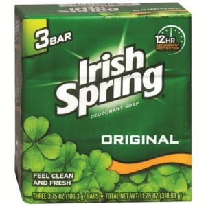irish spring body soap bars