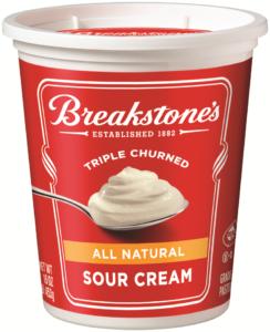 breakstone's sour cream
