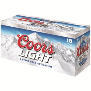coors light 18 pack