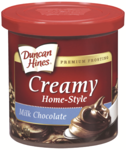 duncan hines frosting