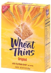 nabisco wheat thins/triscuits