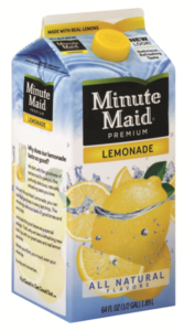 minute maid punches & ades